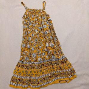 Old Navy toddler 18-24 m dress maxi floral